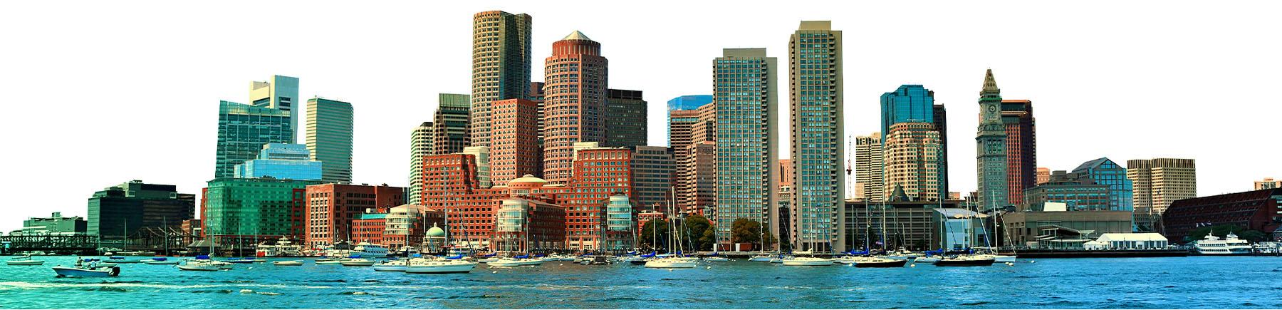 Photo of the Boston skyline